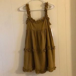 Urban outfitters taupe dress